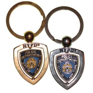NYPD and FDNY Keychains