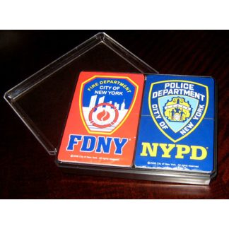 NYPD and FDNY Playing Cards